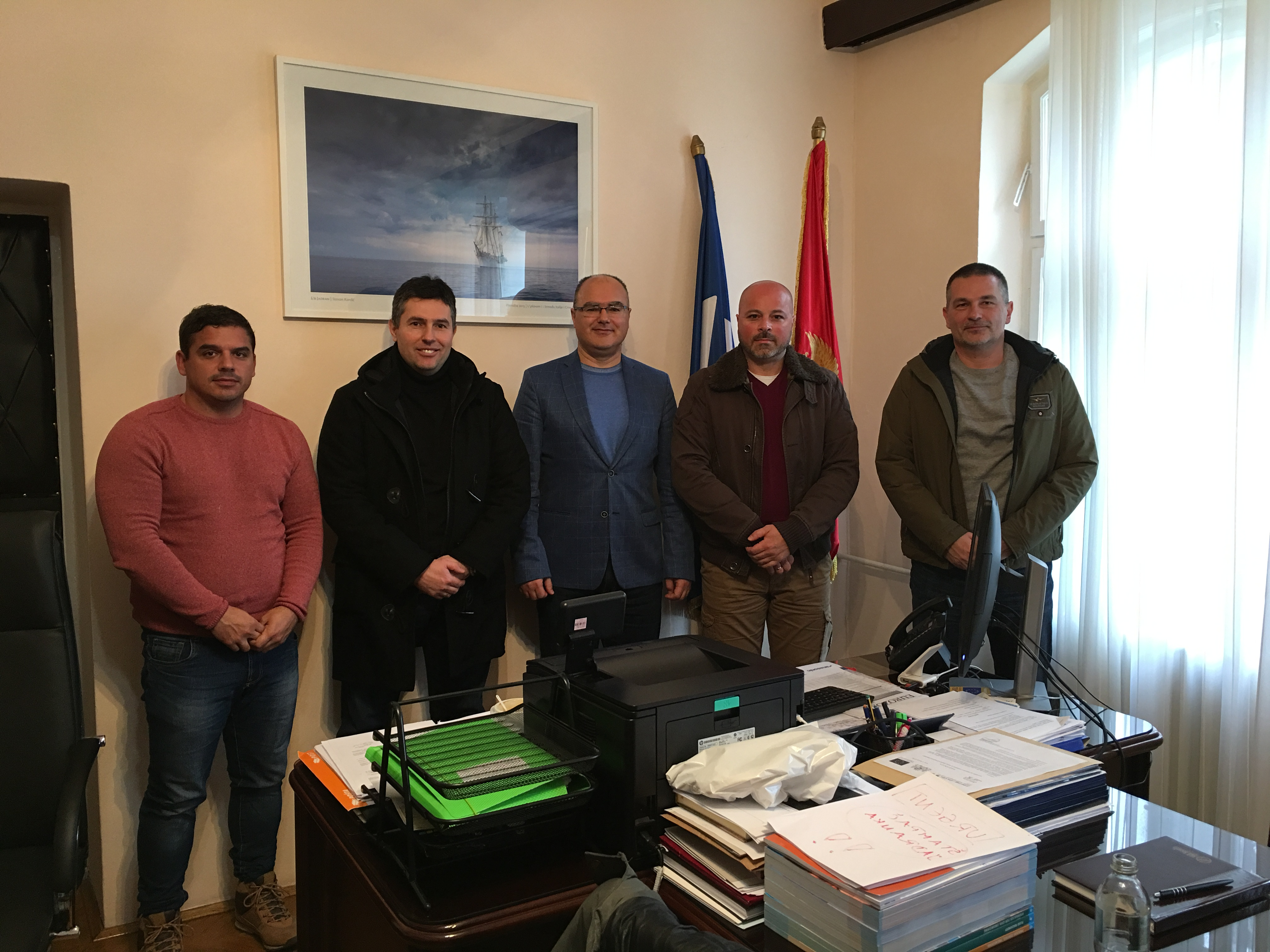 Radni sastanak na Pomorskom Fakultetu Kotor